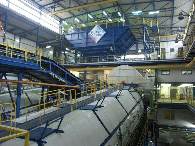 Modernization of the sugar beets dry unloading line and beet store-room at Sugar Factory Krasnystaw , Poland